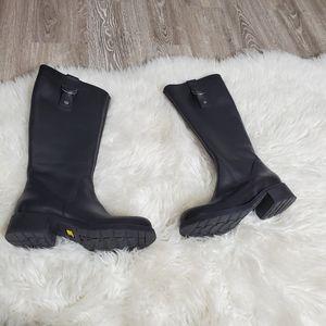 Caterpillar Chunky heel riding boots